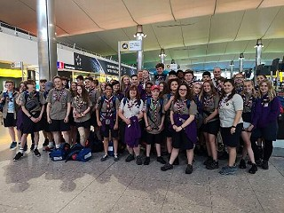 Bromley scouts fly to USA for international event